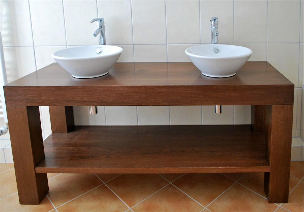 Badezimmermöbel eiche massiv  Badmöbel | Holzdesign Jan Klamet | Tischlerei aus Meisterhand