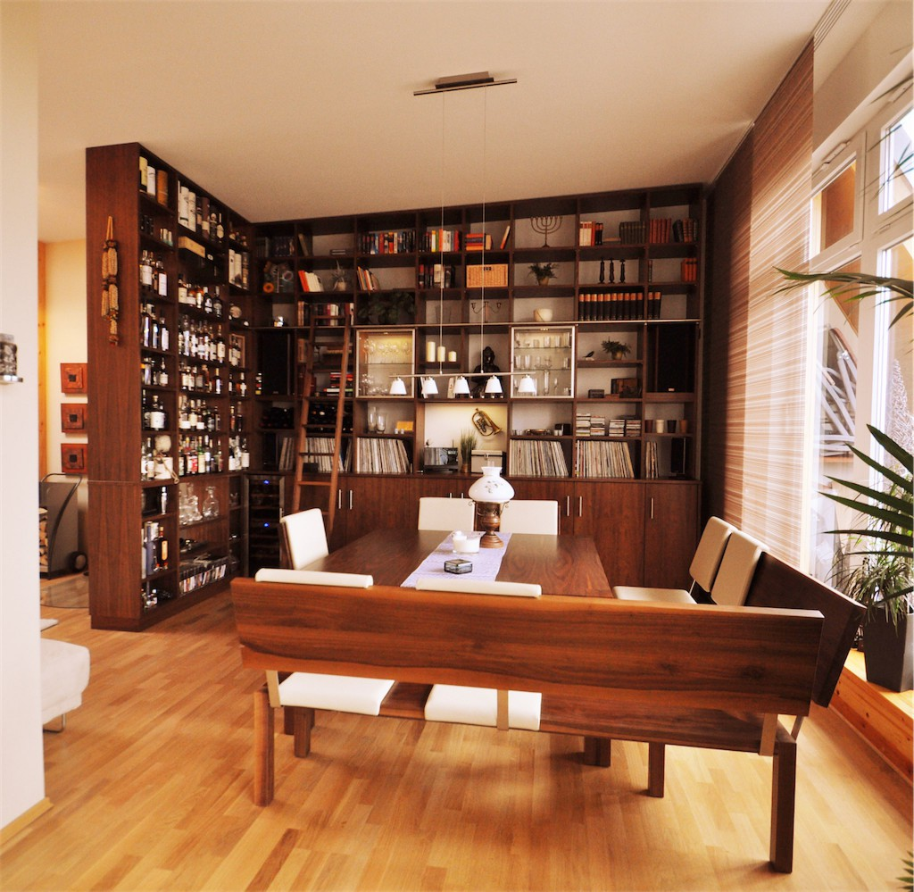 regal holz design neat design regale holz regal broregal bcherregal r amazon de kche haushalt. Black Bedroom Furniture Sets. Home Design Ideas