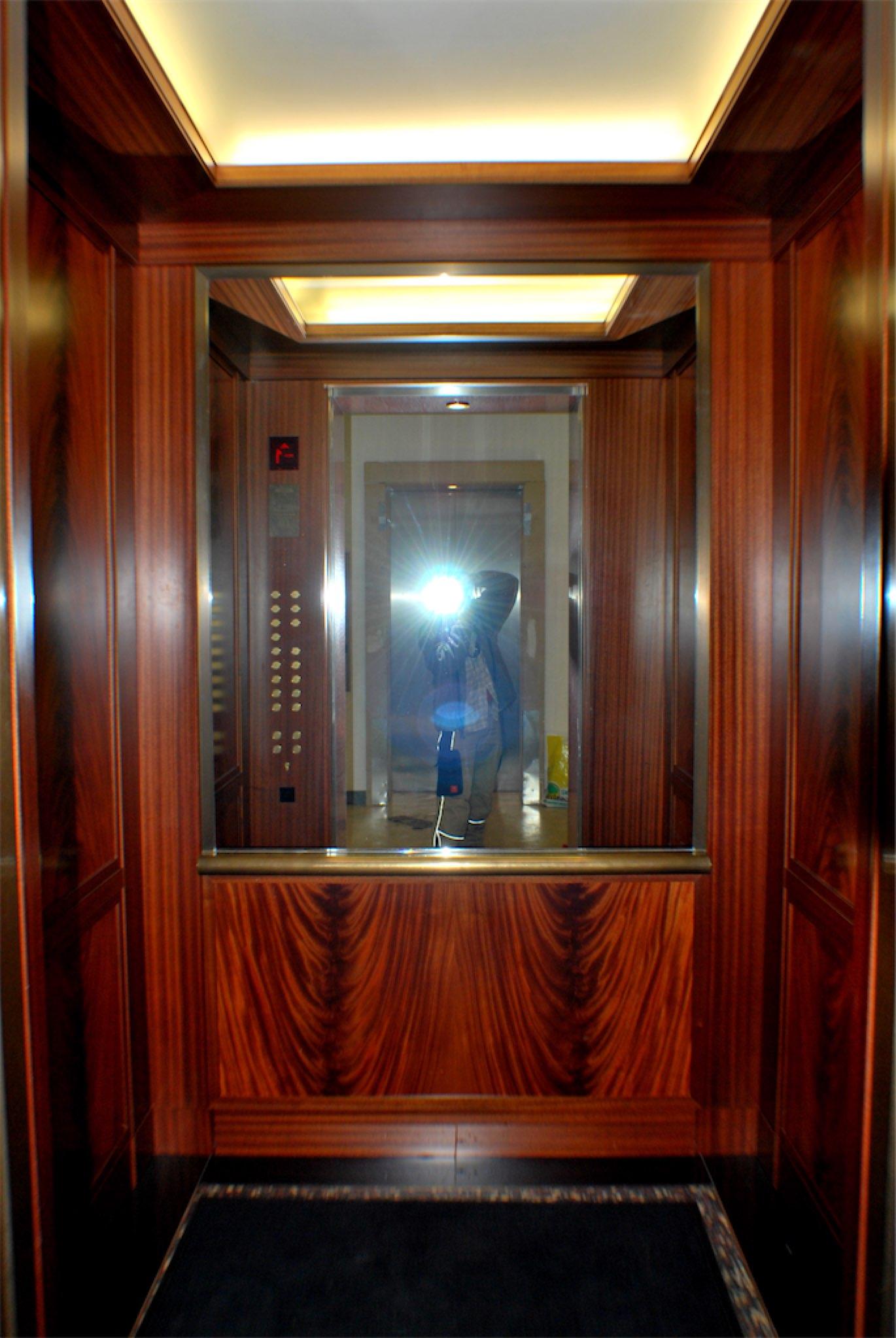 Aufzugkabine