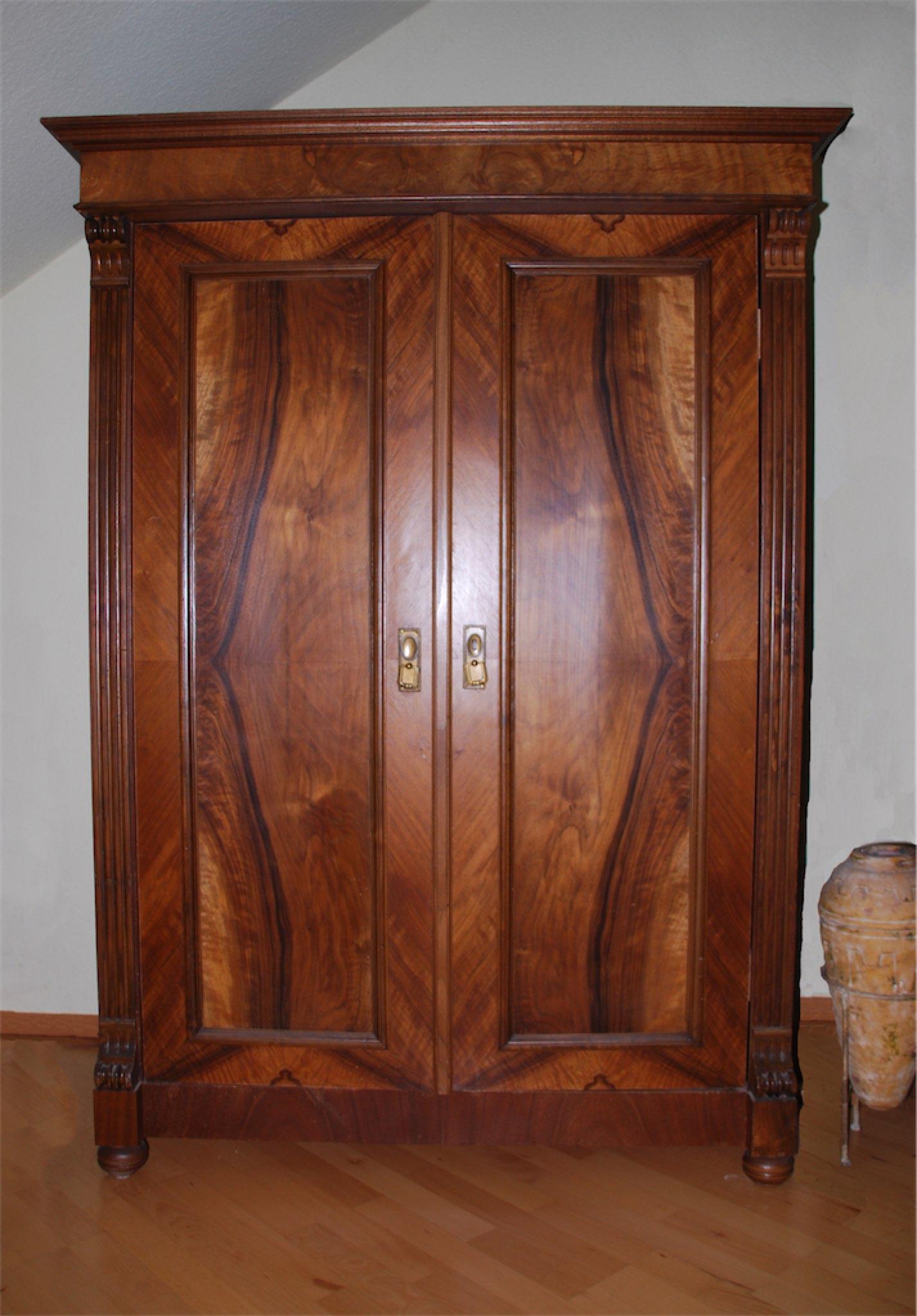 Renovierung Garderoben-Schrank